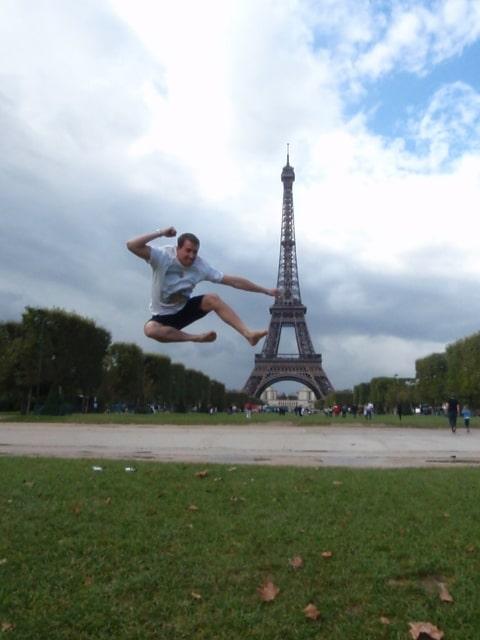 Eiffel Tower Funny Photos