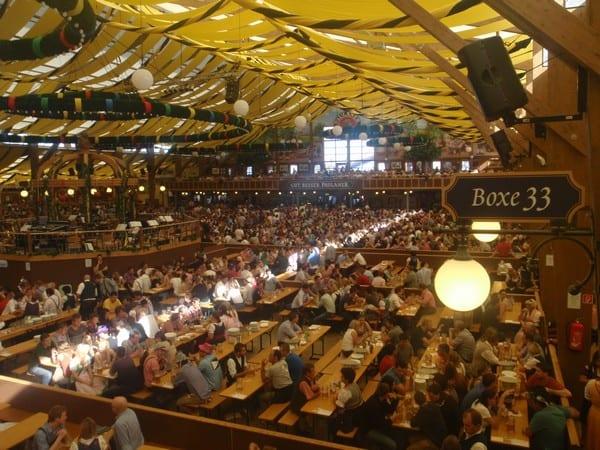 Oktoberfest Beer Halls