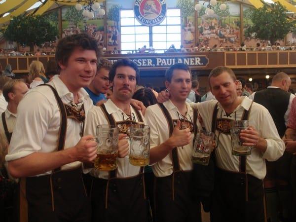 Big Jugs in Germany at Oktoberfest