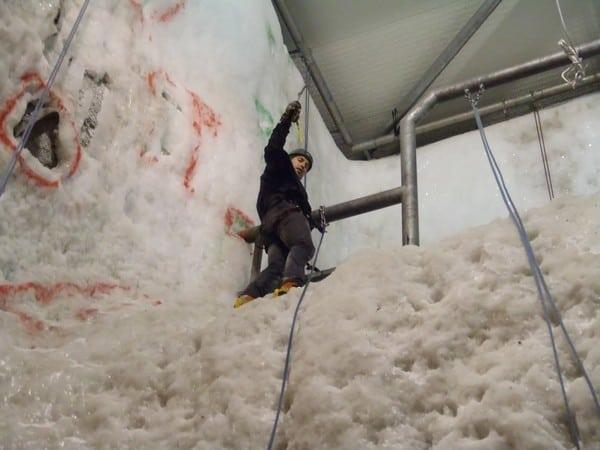 Ice Climbing in the UK