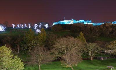 Edinburgh at Night Castle
