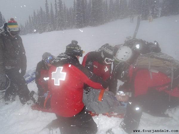 Ski Patrollers Marmot Basin