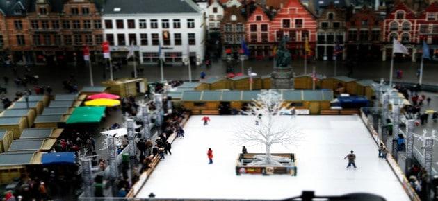 Bruges Ice Skating