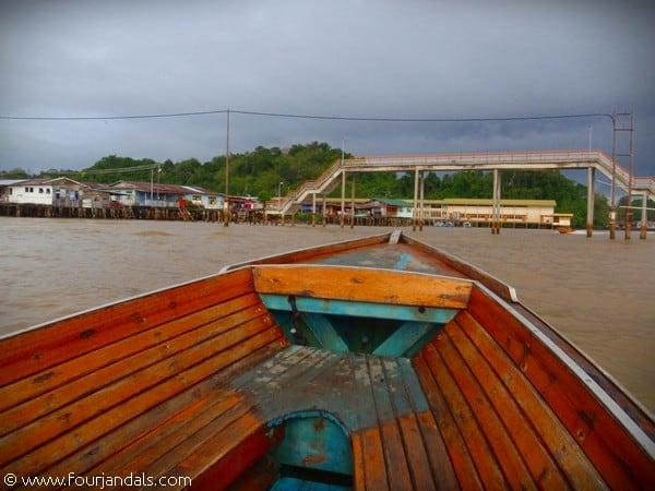 Kampong Ayer Footbridge Water Village