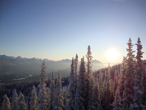 Marmot Basin Sunrise Jasper