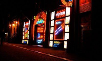 Amsterdam peep show Sex Palace