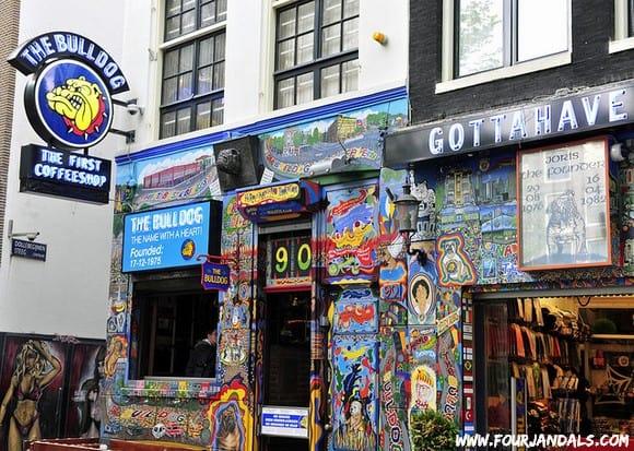 Bulldog Coffeeshop in Amsterdam