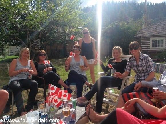 Embracing Canada Day in Jasper National Park