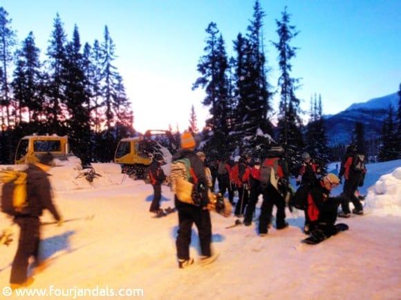 Lifties at Marmot Basin Ski Area