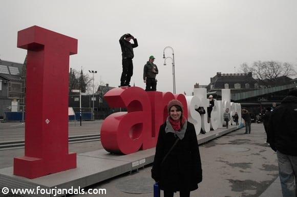Adela I Amsterdam sign