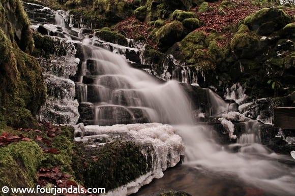 Falls of Moness on the Birks of Aberfeldy Walk in Scotland