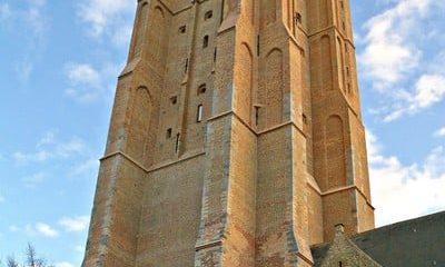 Bruges cathedral spire