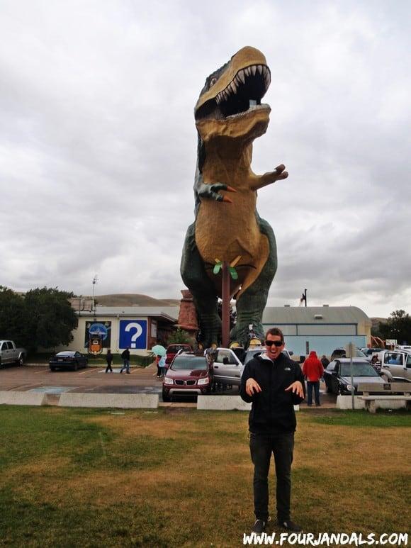 Drumheller Dinosaur Park T Rex