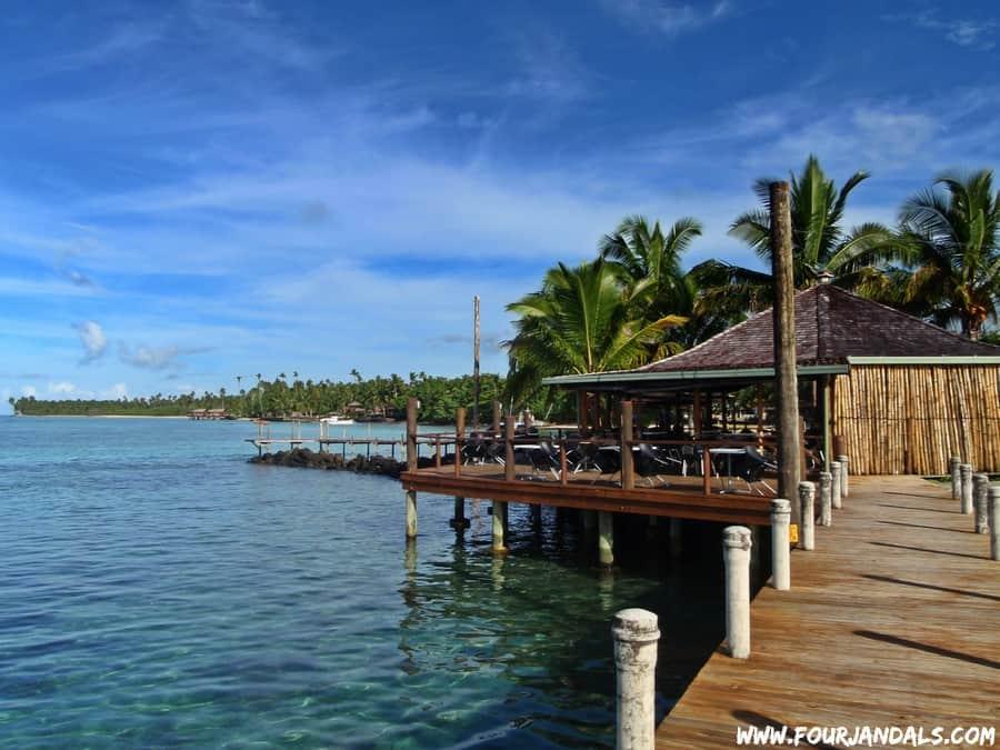 Wharf in Samoa Hump Day