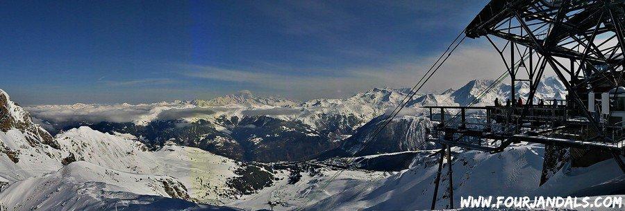 3 Valleys Peak Panorama, Travel Adventures