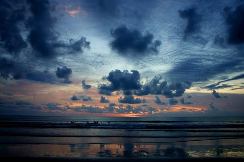 Indonesia Sunset Grim Lab