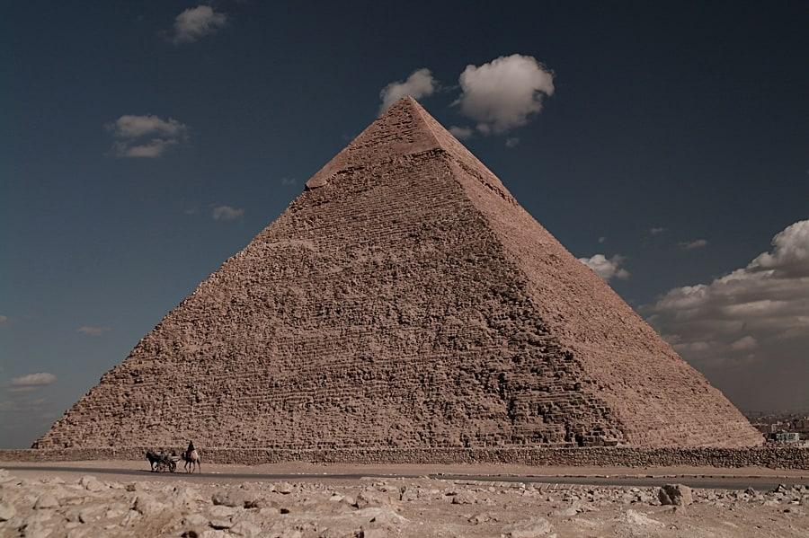 Khafre Pyramid in Cairo