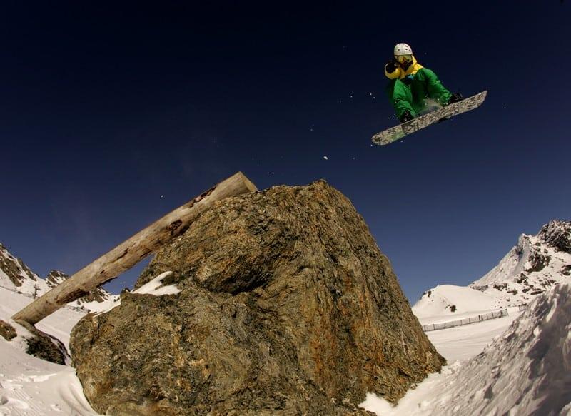 New Zealand Snowboarding Grim Lab