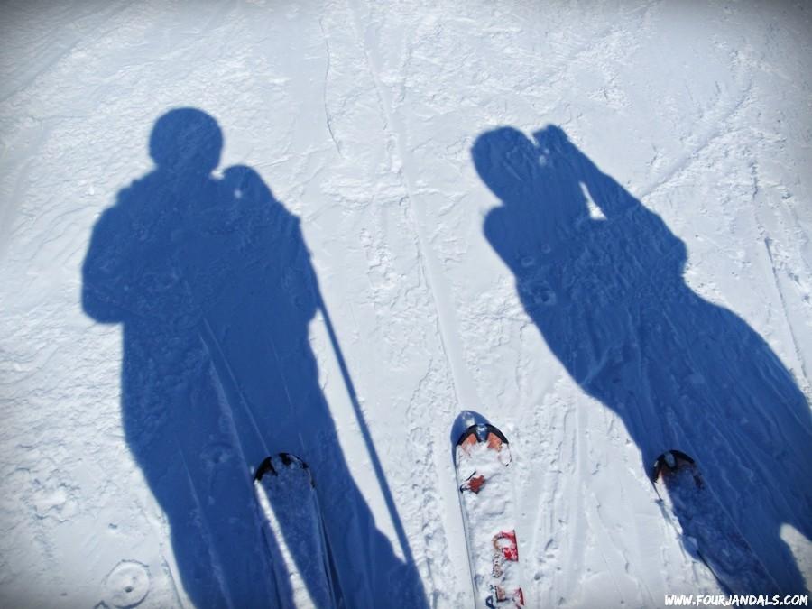 Skiing 3 Valleys