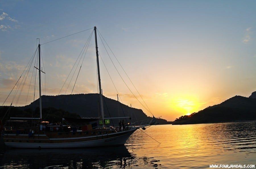 Sunset Sail Turkey