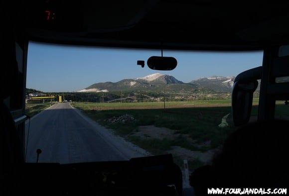 Istanbul to Fethiye bus