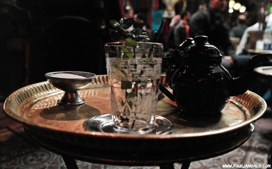 Mint Tea in Egypt