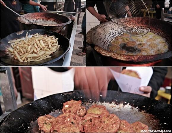 Street food in Egypt Falafel