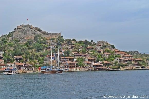 Simena Village, Busabout Sail Turkey Review