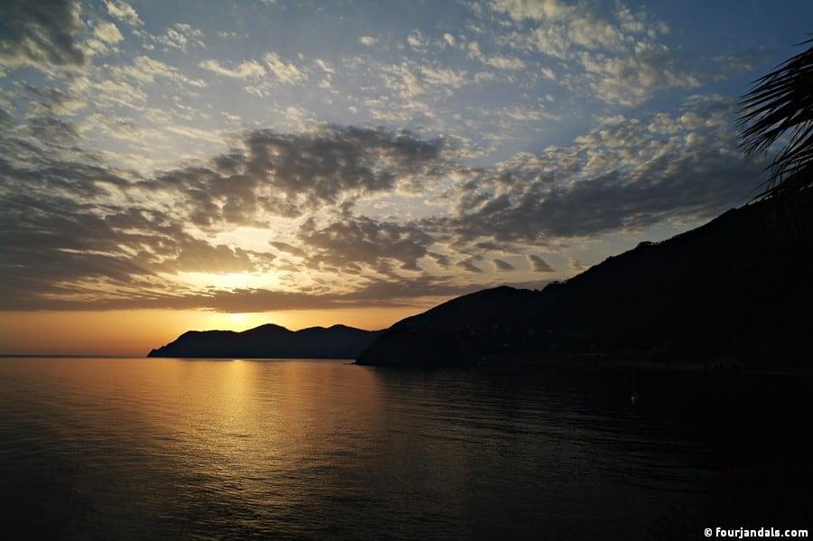 Cinque Terre Sunset Photos
