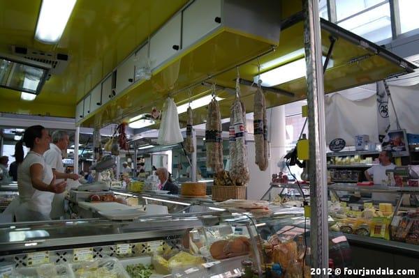 Dried meat in La Spezia