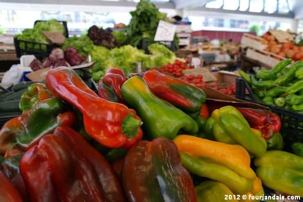 La Spezia market veges