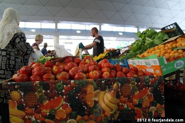 Vegetables La Spezia market