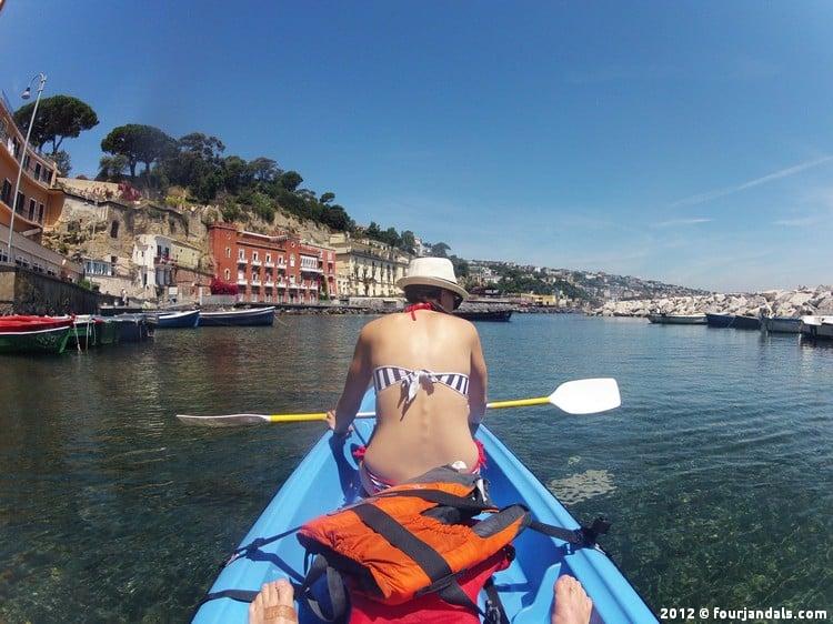 kayaking in Naples