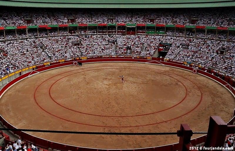 Bullfighting in Spain Pamplona