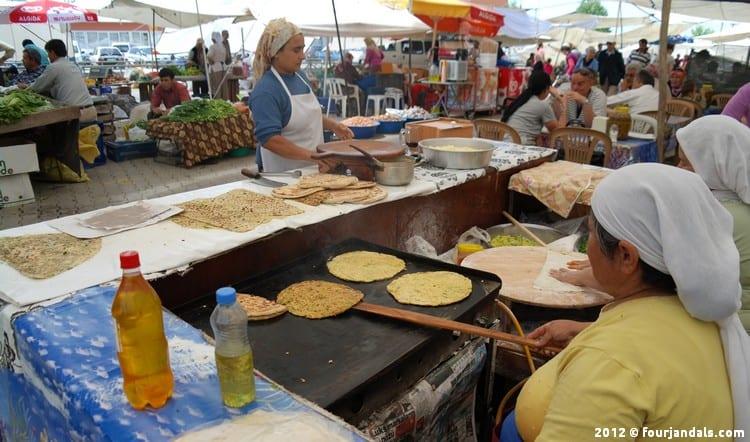 Gözleme traditional Turkish Food