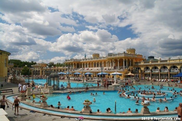 Thermal Széchenyi Baths, Budapest, Hungary, Medicinal Baths