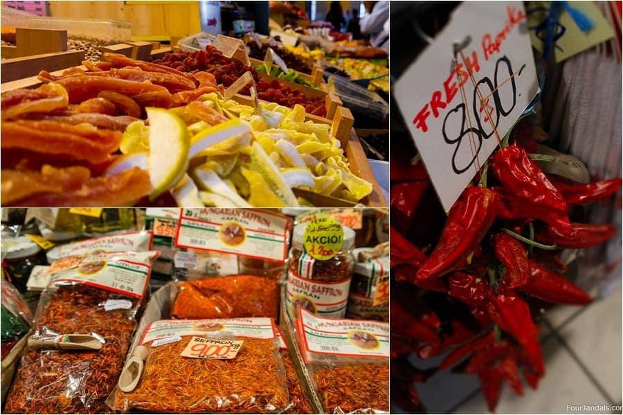 Visiting Budpest Great Hall Market
