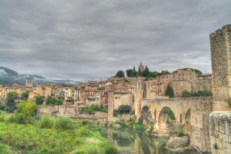 Besalu Town Costa Brava Spain