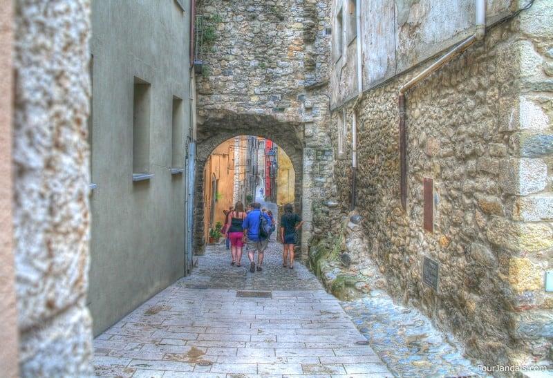 Besalu Village Alleyways