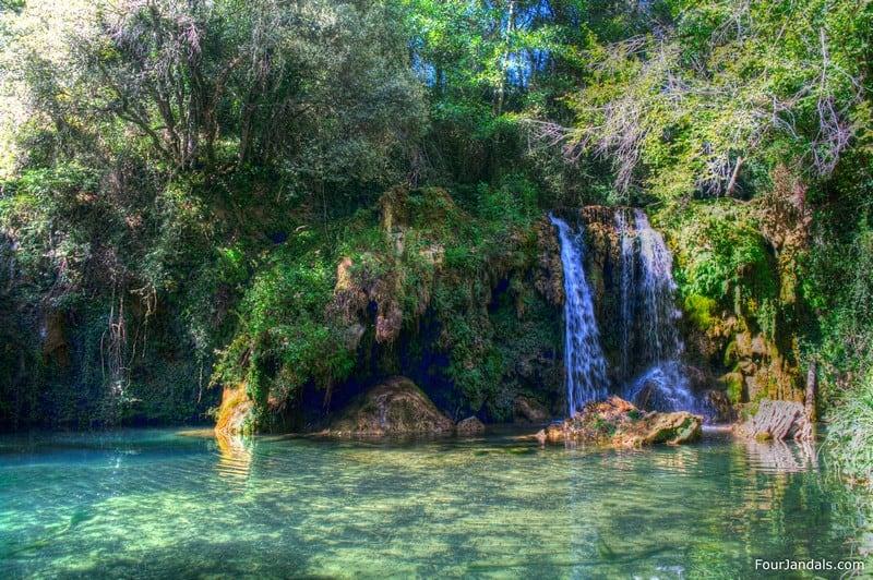 Costa Brava secret waterfall