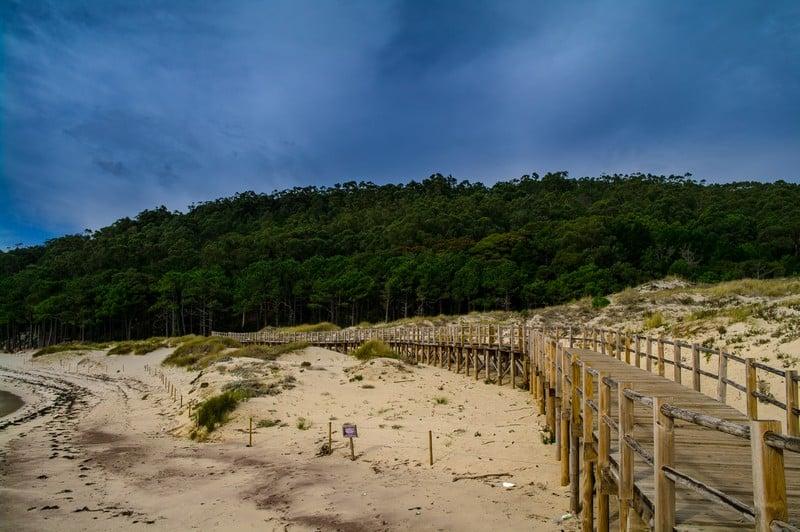 Las Islas Cies, Cies Island, Vigo, Galicia
