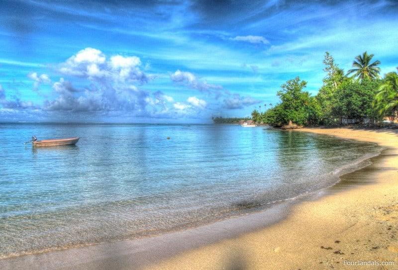 Maninoa Surf Resort in Samoa