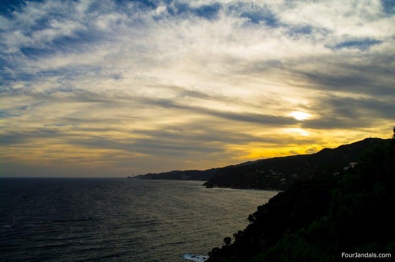 Sant Feliu de Guíxols Sunset Costa Brava