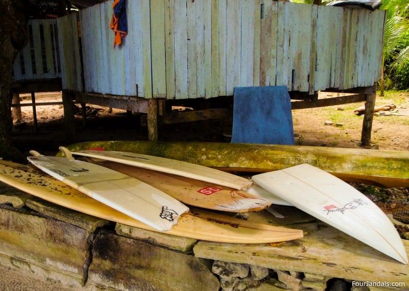 Broken Boards Surfing in Samoa