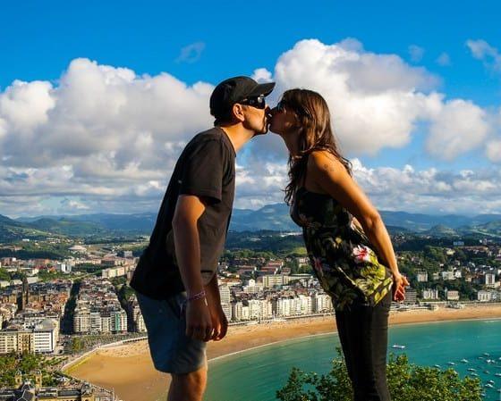 Romance in San Sebastian Cole and Adela
