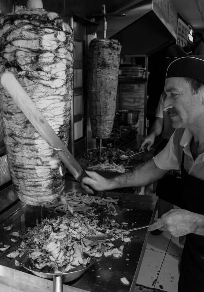 Istanbul Street Food Kebab