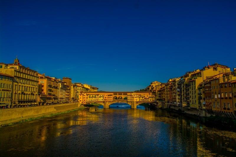 Ponte Vecchio Bridge Florence, Italy