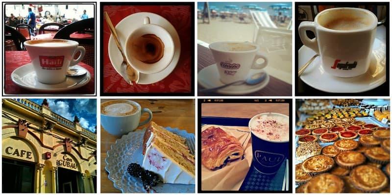 Coffee and cake around the world