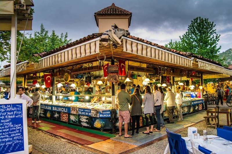 Restaurants in Fethiye