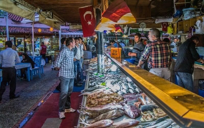 Restaurants in Fethiye, Fethiye Fish Market, Fethiye Restaurants, Trip Advisor Fethiye